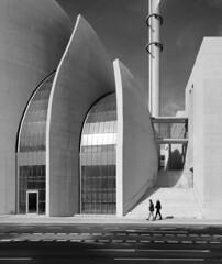 Moschee (schromann) Tags: modern concrete paul contemporary cologne köln mosque beton brut ehrenfeld sichtbeton moschee böhm 20131006 moscheepaulbã¶hmehrenfeldkã