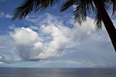 Rainbow, Ampana (naonishimiya) Tags: sea indonesia rainbow laut sulawesi celebes pelangi centralsulawesi ampana sulawesitengah sulteng