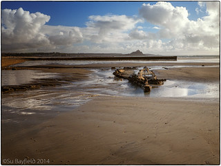 Wreck in Mounts Bay