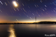 Startrails regadio (Hatoori) Tags: estrellas startrails extremadura fotografanocturna jatoori hatoori