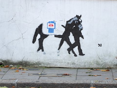 Value Horse (failing_angel) Tags: london camden banksy tesco graffito horsemeat tescovalue 291013 2013horsemeatscandal