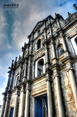 Ruins of St. Paul [hdr] (Lister FilSan [Busy]) Tags: travel macau hdr