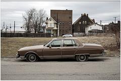 Parisienne With Dual Flats (macwagen) Tags: car automobile flat pennsylvania tire pa pontiac braddock parisienne