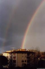Double rainbow - doble arco iris - doppio arcobaleno (rpalandri) Tags: film arcoiris rainbow scan doublerainbow arcobaleno ricohkr5 kodakultra200 doppioarcobaleno doblearcoiris wwwraffaellopalandricom