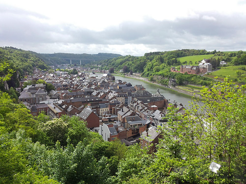 Dinant from Citadel