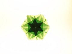 green02 (qrtello) Tags: snowflake star origami transparent