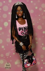 Re-rooted Dreadlocks (Doll Affinity) Tags: baby dreadlocks doll dolls ooak barbie style sis dreads aa phat chandra reroot so