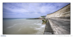 Saltdean (Fred255 Photography) Tags: uk longexposure sea england seascape water canon coast south fred 1ds eastsussex ef manfrotto saltdean haida eos1ds markiii llens ef1740mmf4lusm ef1740mm nd1000 1dsmk3 canoneos1dsmarkiii 1ds3 leeholder fred255 flickrbronzetrophygroup chalkclifts ©fred255photography2014