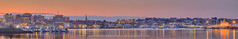 Portland Maine City Skyline from South Portland (Captain Kimo) Tags: skyline portland maine southportland portlandharbor foreriver photomatixpro hdrphotography captainkimo