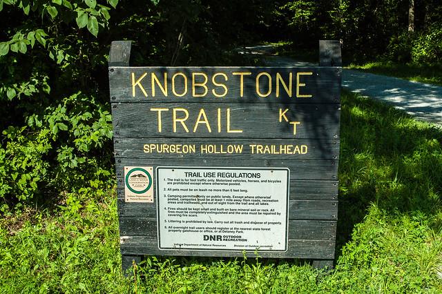 Jackson-Washington State Forest - Knobstone Trail - June 25, 2014