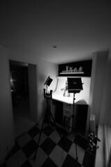 home photography studio - atana studio (Anthony SJOURN) Tags: home loft studio photography lights photo nikon lego mini spot anthony maison papier blanc atat fond cyclo d610 atana photographique sjourn