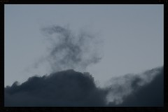 Twilight cloudscape (Zelda Wynn) Tags: rain twilight auckland cumulus cloudscape troposphere zeldawynnphotography