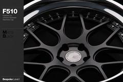 f510-matte-black (AG Wheels) Tags: black wheel painting hardware paint coat wheels powder step chrome finish lip custom rim rims function avant garde forged matte concave finishing avantgarde bespoke level1 f510 powdercoat spec1 agwheels agfunction