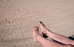 Sandals (Oneras) Tags: pies feet sandals sexy woman legs piernas wife estitxu beach beauty