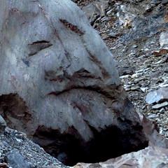 Stoneface (Dru!) Tags: seabridgesept2016 stoneface stone face troll pareidolia rock optical illusion image coastmountains bc britishcolumbia canada sandstone