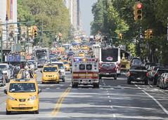 Traffic jam (snej1972) Tags: privat newyork usa city sebastianwalleit sebastian holiday vacation manhattan bus stadtrundfahrt metropolitanmuseum museum harlem upperwestside