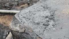 Cracking Time (Katie_Russell) Tags: ni nireland northernireland norniron ulster ireland portrush countyantrim stationsquare damage damaged wall stone coantrim