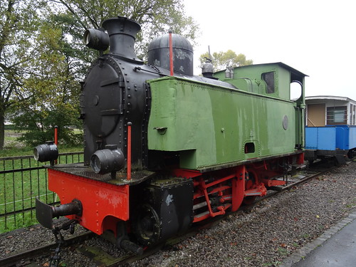 CVE Steamlocomotive ex-ARBED built by the 'Société de La Meuse à Liège' in 1937 and bought back in 1995.