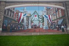 The Roebling Murals (Boyd Shearer) Tags: kentucky covington riverfrontidentity