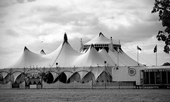 Big Top (Andrew Gustar) Tags: 116picturesin2016 circus big top tent marquee bristol durdham downs