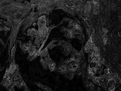 dark deepness (j.p.yef) Tags: peterfey jpyef yef digitalart dark bw sw abstract abstrakt lowkey