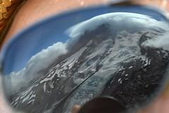 Mountain in My Eye (Sotosoroto) Tags: dayhike hiking mtrainier burroughsmountain cascades mountains washington reflection