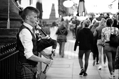 A' Phob Mhr (stephen cosh) Tags: 50mmsummicronapo analogue blackandwhite candid film fujineopan100 glasgow kodakhc110 leicam7 people scotland stephencosh streetphotography