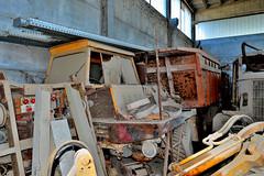 OM titano dumper 4x4 (riccardo nassisi) Tags: auto camion truck abbandonata abandoned abbandonato rust rusty relitto rottame ruggine ruins scrap scrapyard epave urbex decay piacenza cava san nicol