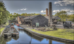 BCLM Canalside 2 (Darwinsgift) Tags: bclm black country living museum dudley birminham canal canalside industrial past heritage architecture vintage carl zeiss distagon 35mm f2 zf 2 nikon d810 landscape hdr photomatix