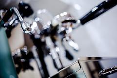 bocha (evvvvan) Tags: coffee espresso vbm vibiemme coffeemachine stainless chrome brass metal steam cafe bokeh dof abstract wideopen pancake f28 e61 bokehlicious explored explore