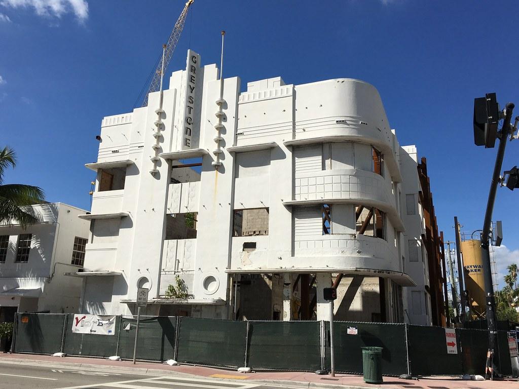 Art Deco Greystone Hotel Renovation South Beach