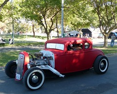 show is over headed out (bballchico) Tags: billetproofantioch carshow 2016 hotrod coupe