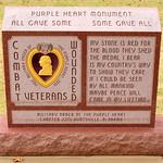Purple Heart Monument - Huntsville, AL thumbnail