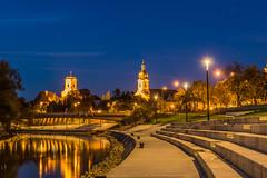 Gyr evening 2 (Burjn Lszl) Tags: evening gyr hungary lights