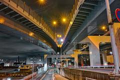 Join -  (uemii2010) Tags: japan tokyo elevatedexpressways jct night lights longexposure sigmadp1merrill cityscape city