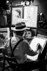 drawing-1 (mdc-photo-graphic.com) Tags: artist drawig black white italy italien taormina