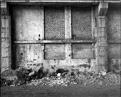 Siemianowice lskie, Poland. (wojszyca) Tags: mamiya rz67 6x7 120 mediumformat 75mm shift gossen lunaprosbc epson 4990 rollei rpx 25 hc110 163 wall interior industrial decay postindustrial ruin uppersilesia brick concrete