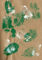Cromer Leafs (Emily May-Gordon) Tags: printing paint leaf colour illustration art