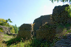 Walls Castle Casimir from the fourteenth century. (Hejma (+/- 5000 faves and 1,6 milion views)) Tags: lanckorona poland castle walls embankment grass green trees