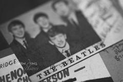 The Beatles (Serena178) Tags: book macromonday thebeatles beatles music history johnlennon explore macro blackandwhite portrait photo photography photographer photograph serenajonesphotography famous london english letitbe georgeharrison ringo album records