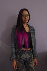 NAJA NAJA_1535 (VonMurr) Tags: girl mexican hair bicolor glasses mexicodf mexico maurycygomulicki morena latina