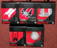 Hasbro - Rogue One Titaniums (Darth Ray) Tags: hasbro star wars black series titanium rogue one 29 rebel uwing fighter 30 tie striker 31 imperial cargo shuttle sw0608 32 krennics 33 death