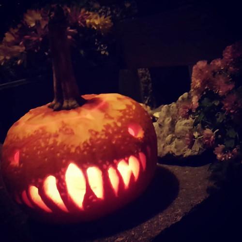 Halloween 🎃 👻 pumpkin by @frejerto