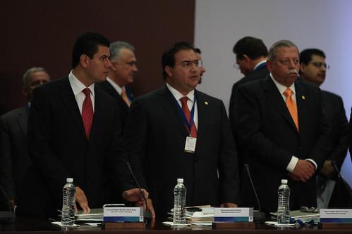 El gobernador Javier Duarte de Ochoa asistió a la XXX Sesión del Consejo Nacional de Seguridad Pública 1