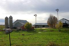 Amish farm (WORLDS APART PHOTO) Tags: amish amishfarm cashton wisconsin windmills windmillwednesday rural rustic horse farmland farming farmhouse windpower outdoor scenic plain