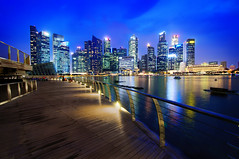 Financial District Singapore (nabilishes [on and off]) Tags: singapore singapura singaporeskyline cbd centralbusinessdistrict marinasouth marinabaysands waterfront cityscape bayfront marinabay nabilishes nabilza urban skyline architecture city
