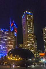 The NIght of the Victory Parade (Flipped Out) Tags: chicago lakeshoredrive worldchampionship chicagocubs
