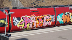 Graffiti in Copenhagen 2016 (kami68k -all over-) Tags: copenhagen kopenhagen 2016 graffiti illegal bombing train dsb bunt wholecar page hng srh