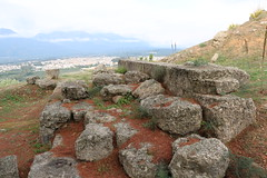 """Heroon  """"Menelaion"""", for the worship of Menelaus and Helen of Troy since the 8th century BC (Kevin J. Norman) Tags: menelaion menelaus helenoftroy sparta sparti greece heroon"""