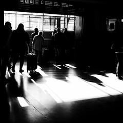 departure (s_inagaki) Tags: departure helsinki finland gate snap blackandwhite bnw bw